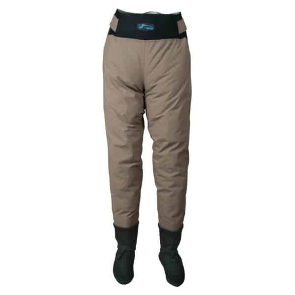Pantalon de pêche respirant avec chausson 3 couches