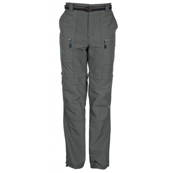 Pantalon de pêche Guide kaki transformable en short