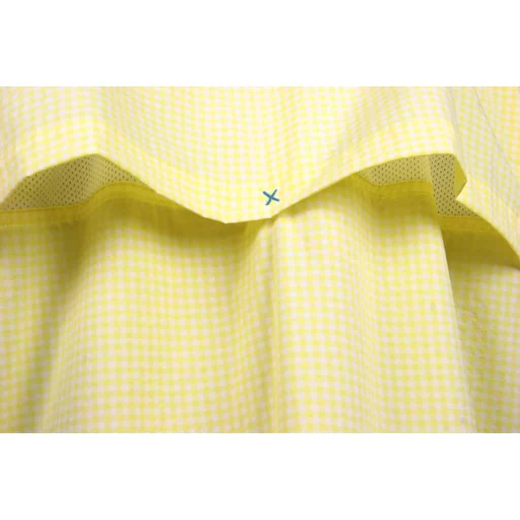 Chemise Ultra Light Stretch pêche jaune