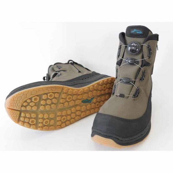 Chaussures de pêche RUBBER double zip ATOP system