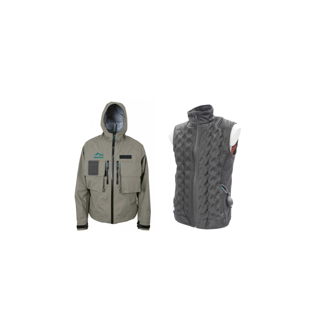 Pack Veste de pêche Expert Pro Sonic / Gilet thermique