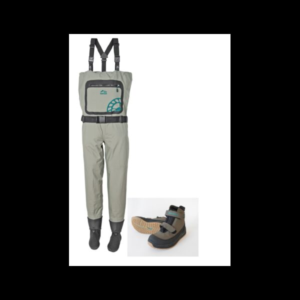 Pack waders respirant sonic / chaussures zip central