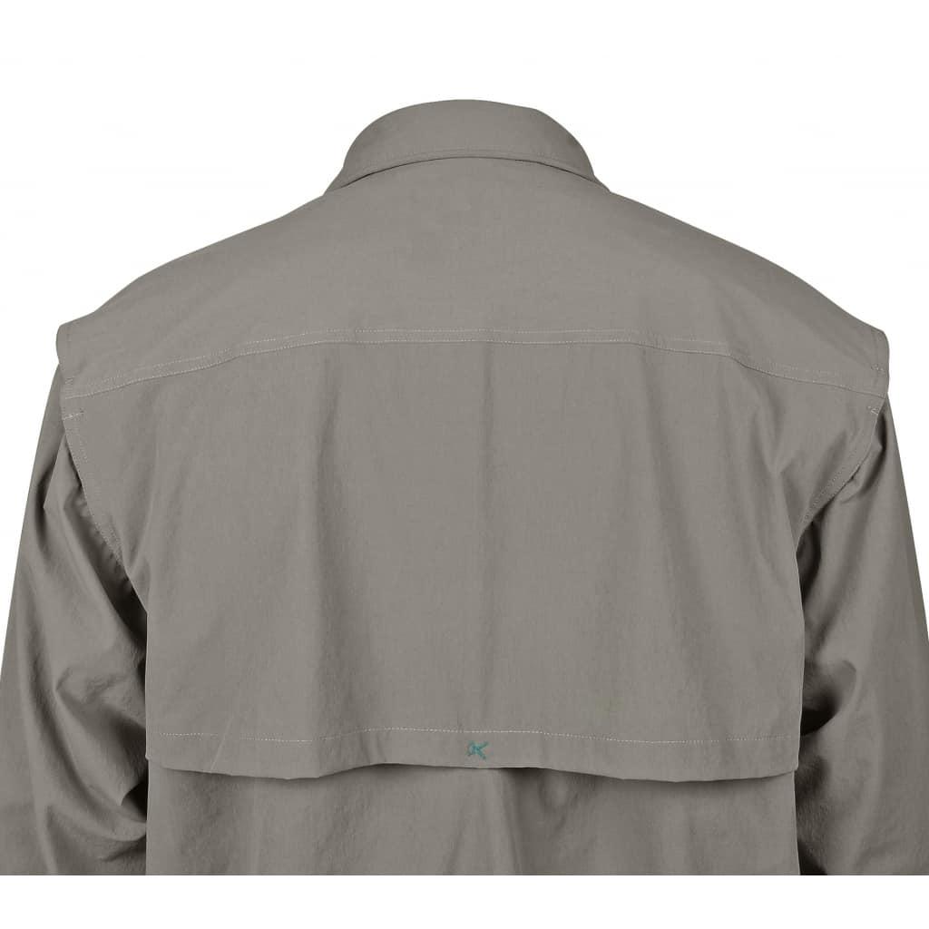 Chemise Guide Stretch 4 poches beige/tabac igfa