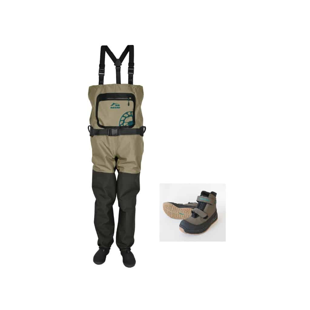 Pack Waders 5 C expert / chaussures zip central