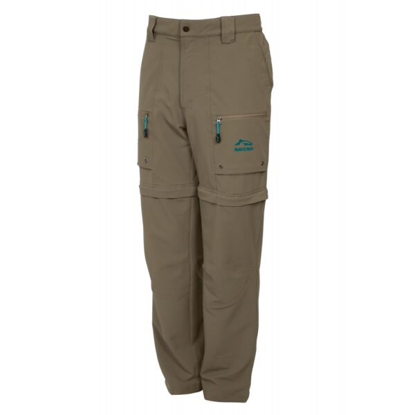 Pantalon short de pêche light stretch