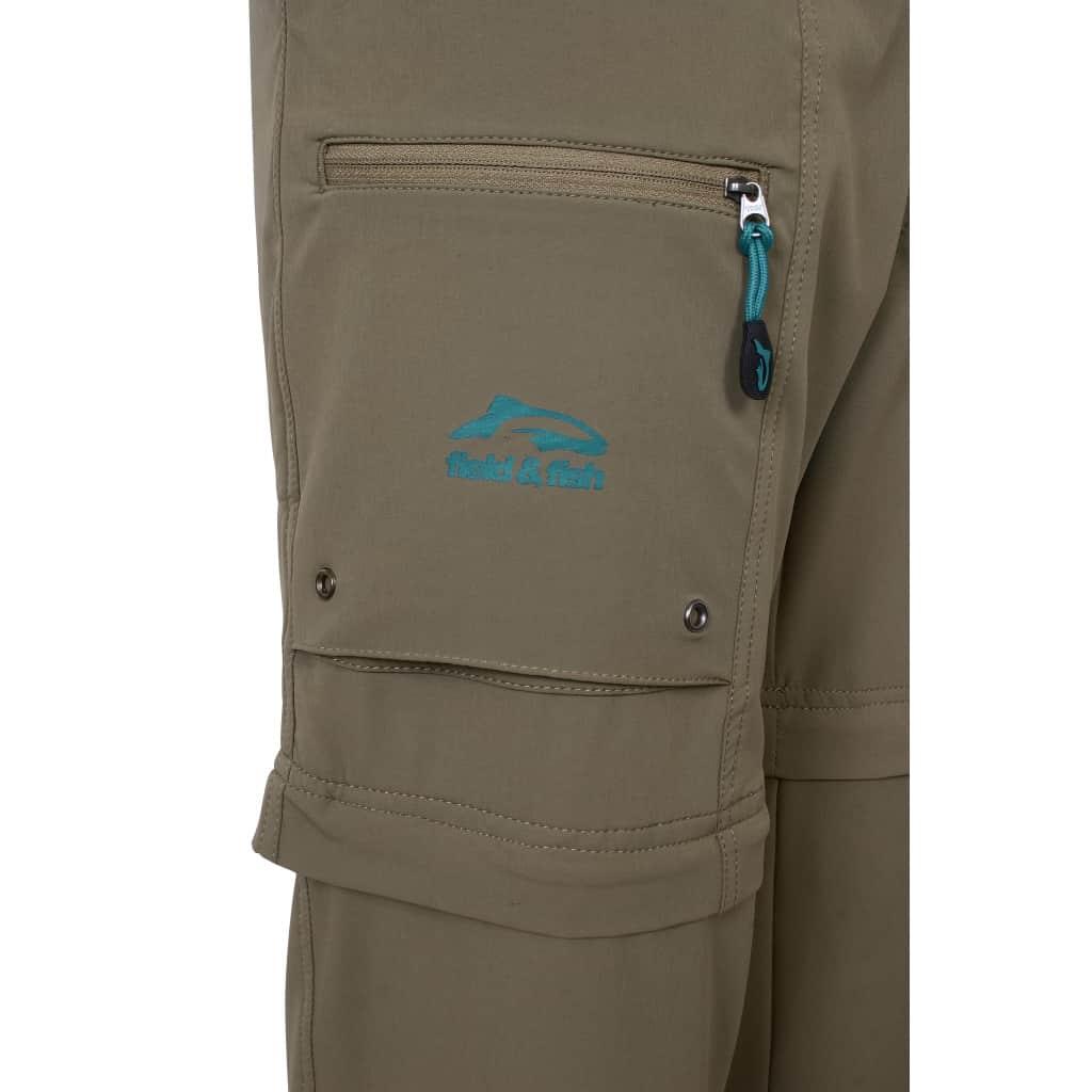 Pantalon short de pêche light stretch