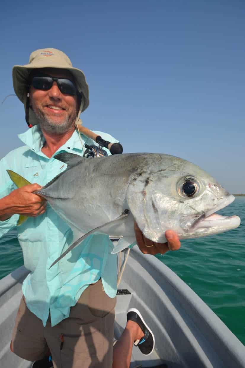 Chemise légère stretch 2 poches en action pêche